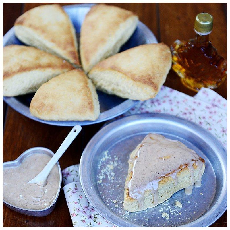 Maple Sugar Scones Recipe — Dishmaps