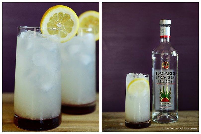 Dragon Berry Lemonade l A boozy drink by Muy Delish