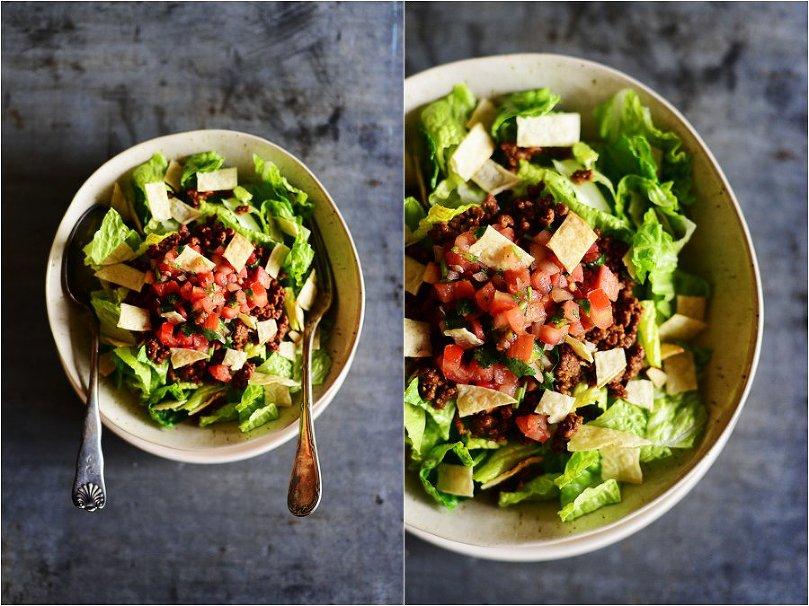 Skinny Taco Salad by Fit Fun & Delish!