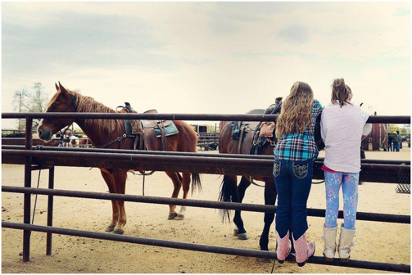 Horseback riding at MacDonald
