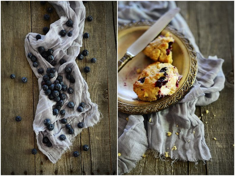 Classic Blueberry Scones by Fit, fun & delish!