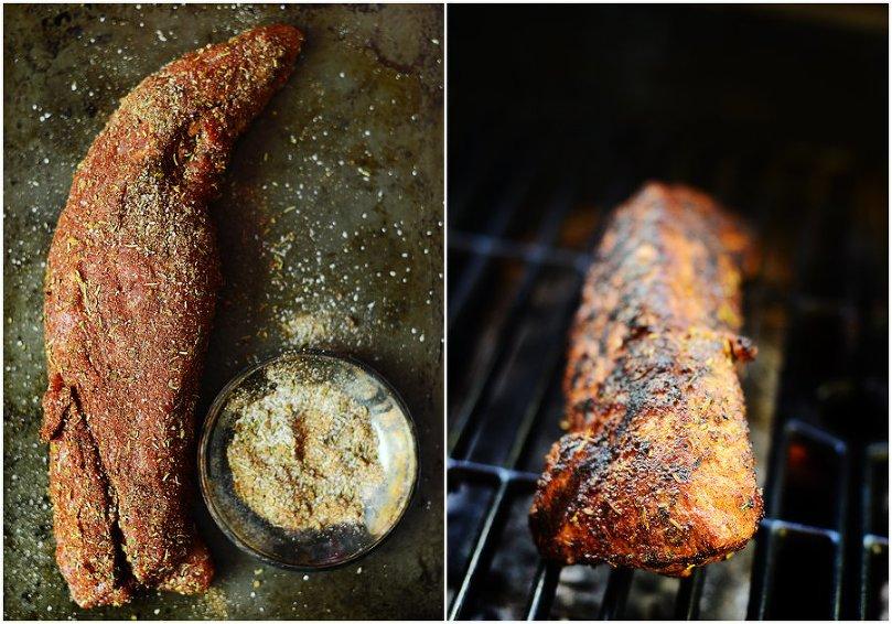 Seasoned Grilled Pork Tenderloin by Fit, fun & delish!