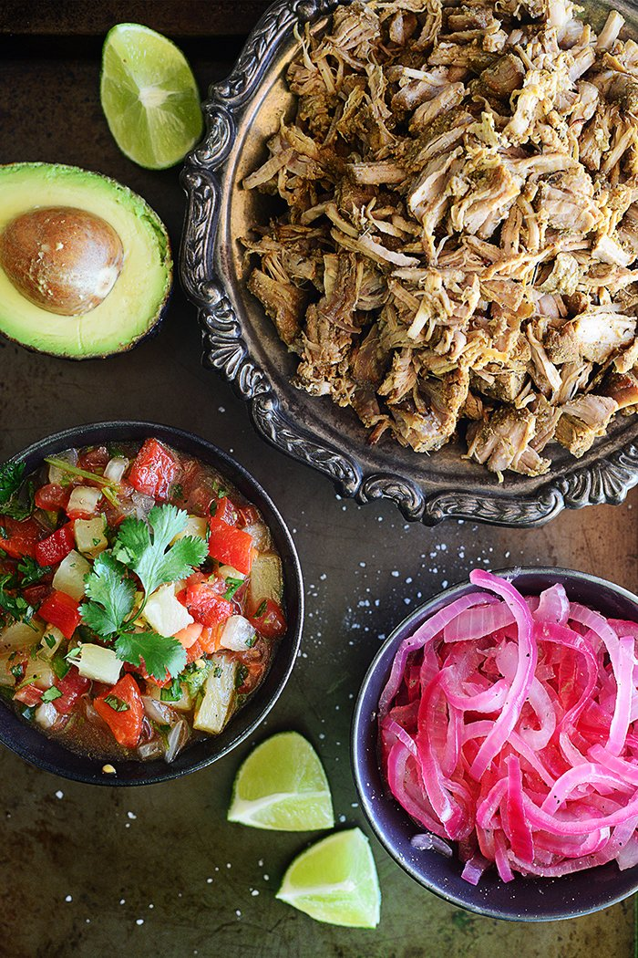 Healthy & Spicy Pork Carnitas by fit, fun & delish!