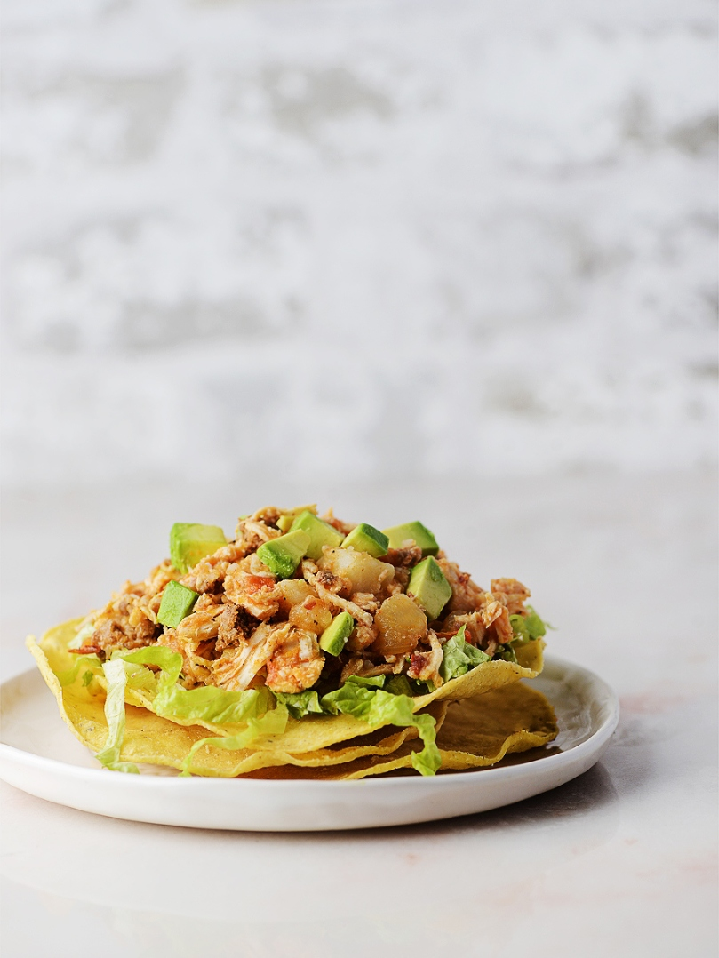 Chicken Tinga (Tinga de Pollo) by Muy Delish