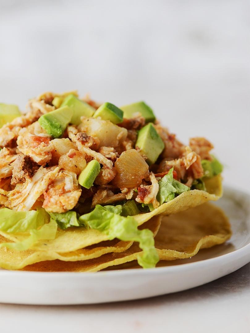 Chicken Tinga (Tinga de Pollo) by Muy Delish