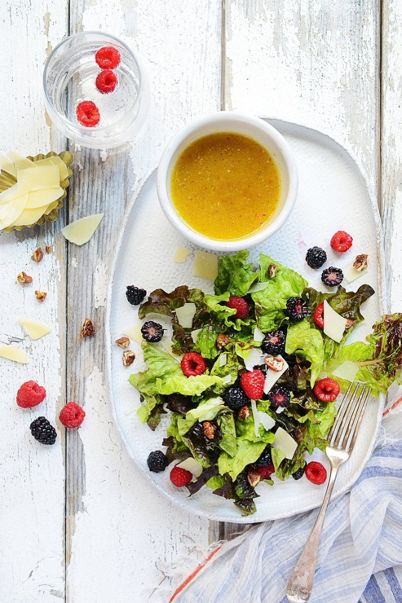 House Salad & Balsamic Fig Dressing