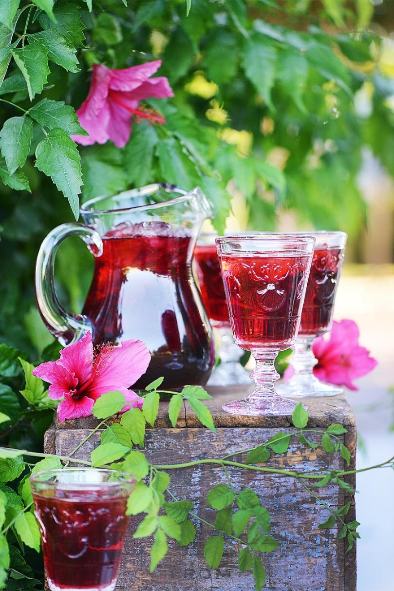 Agua fresca de jamaica hibiscus water muy delish agua fresca de jamaica hibiscus water izmirmasajfo Choice Image