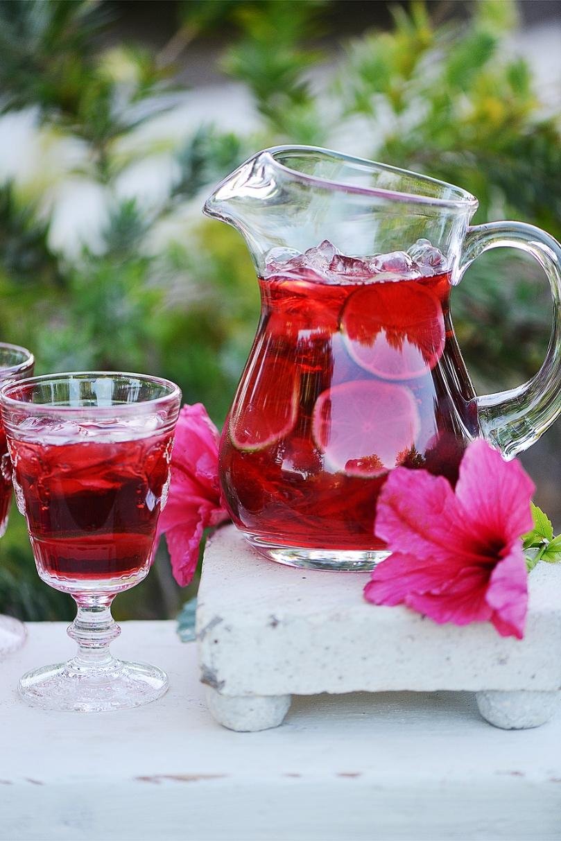 Agua Fresca de Jamaica (Hibiscus) by Muy Delish