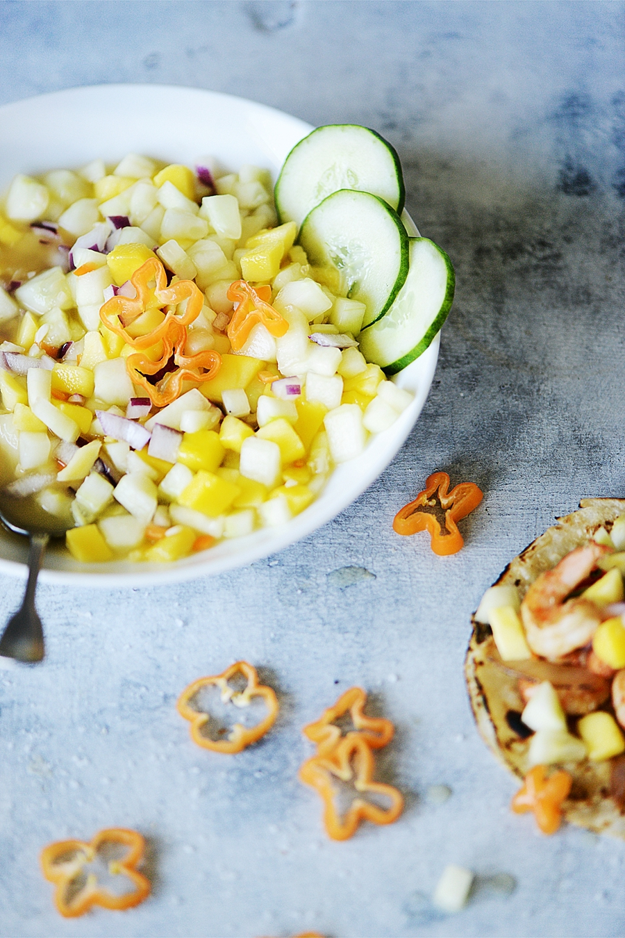 Mango & Pepino Salsa