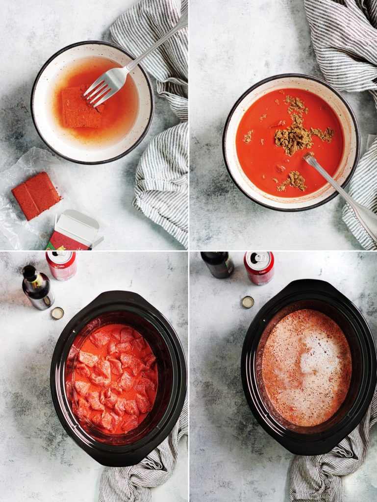 Steps by step how to make Cochinita Pibil.