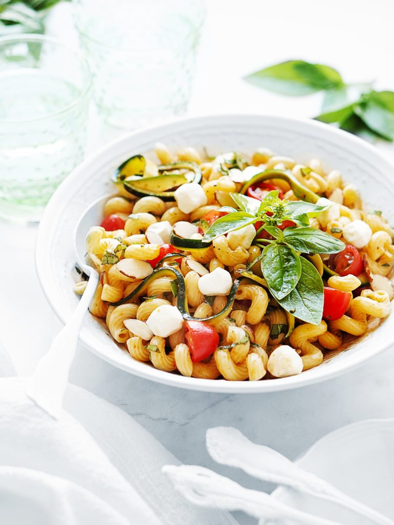 Summer Pasta Salad For Two Recipe For Two Muy Delish