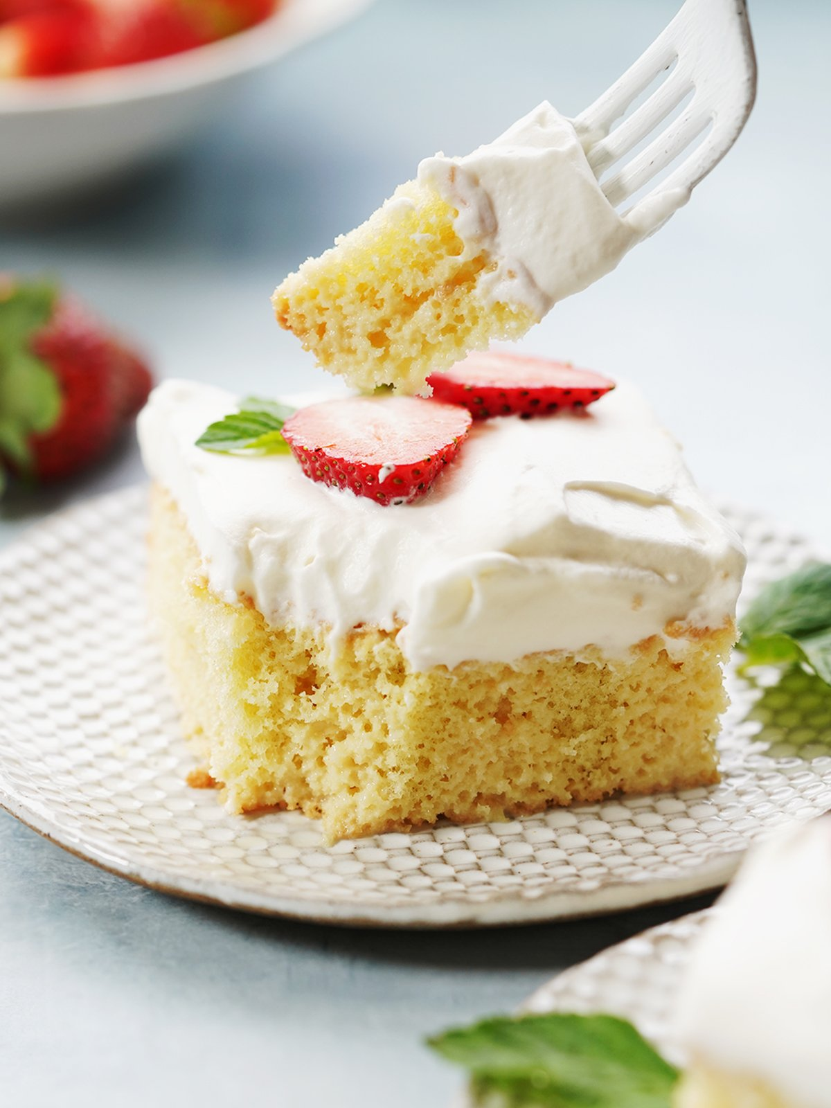 Pastel De Tres Leches Mexican Recipes By Muy Delish